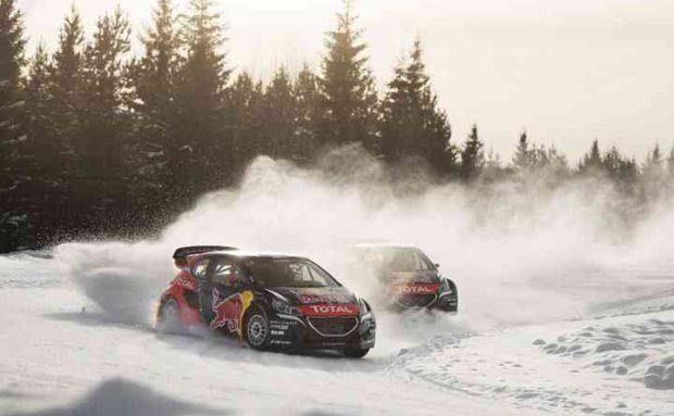 Rallycross on Ice with Sebastien Loeb