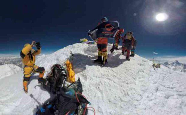 Mount Everest 360 videography