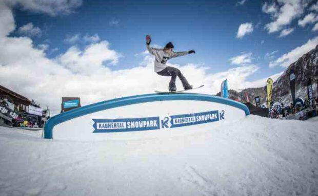 2016 Kaunertal Opening, Snowpark