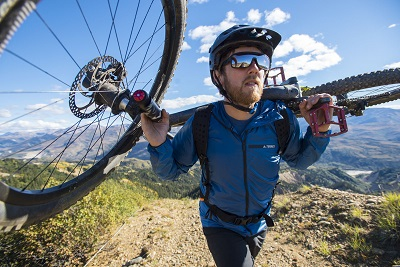 Andrew Taylor's Mountain Bike adventure