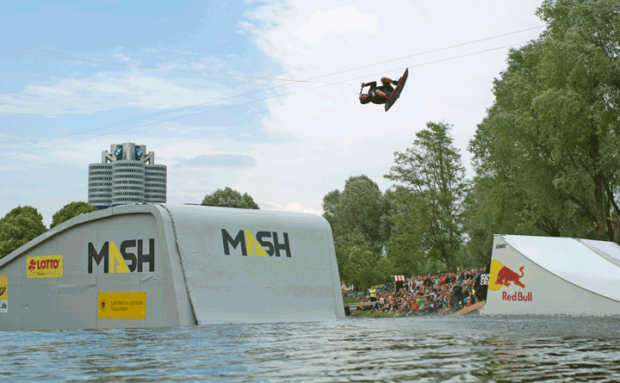 Wakeboard final – Munich Mash 2017