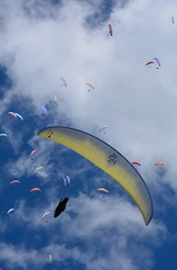 paragliding-European-Championships-2018-Montalegre-Portugal-gliders